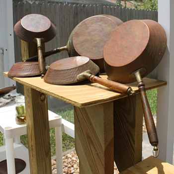 Copper & Tin Pans
