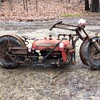 Tractorcycle Tractorbike Farmall Cub tractor
