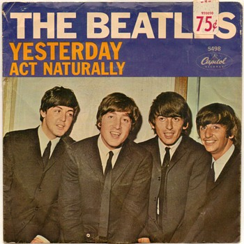 "45rpm Record - ""The Beatles"" (1965) - Records"