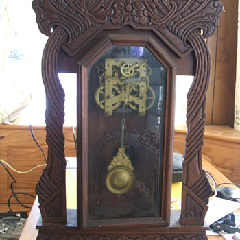 New Haven Parlor Clock Att. Bruce99