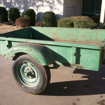 Vintage Sears and Roebuck Trailer