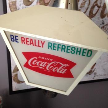 Coca-Cola Lantern