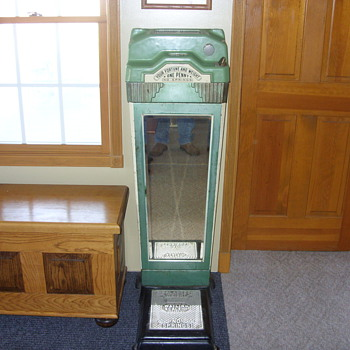 1 cent weight and fortune scales - Coin Operated