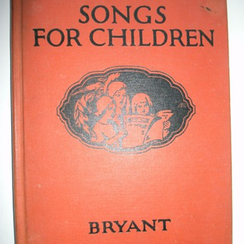 Old book for children.