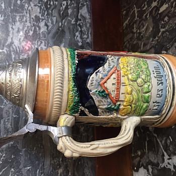 German beer stein - Breweriana