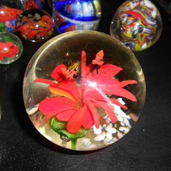 Paperweight Collection - Art Glass