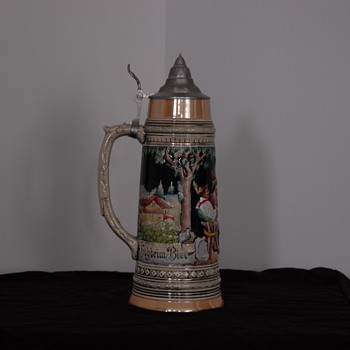 1929 German Beer Stein - Breweriana