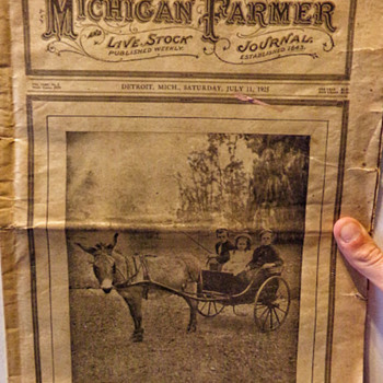 1925 Michigan Farmer
