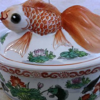 Asian fish Covered Dish  - Asian
