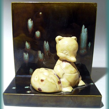 Single Bookend - Pottery -- UNKNOWN  - Figurines