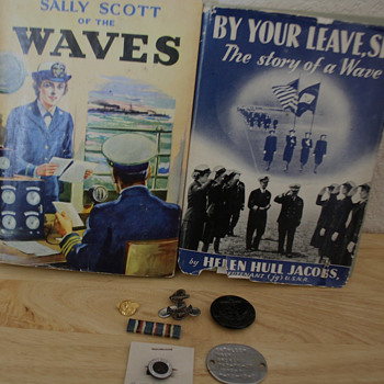 "WWII  Ficton Books  ""Waves""  U.S.N.R. - Books"