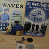 "WWII  Ficton Books  ""Waves""  U.S.N.R."