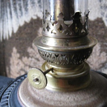 help please.can someone please help me with information on this oil lamp?ty so much - Lamps