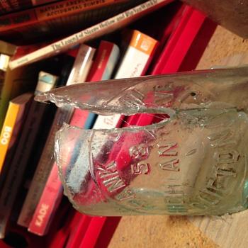 Frank Jani glass bottles - Bottles