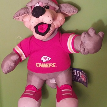 NFL Toy 1994 KC Chiefs