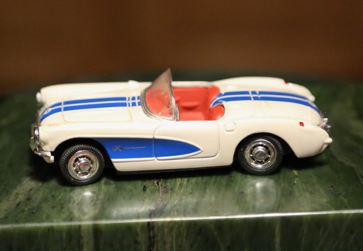 1957 Pontiac Bonneville And 1957