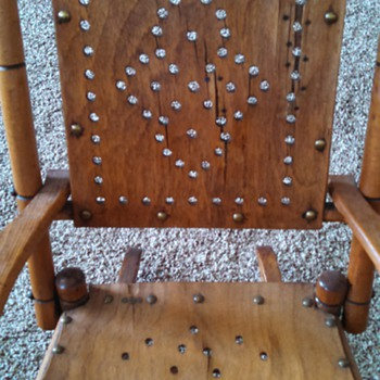 Child's  old rocking chair - Furniture