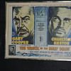 1959 Numbered Limit. Edit. Half Seet Movie Poster Charlton Heston & Gary Cooper