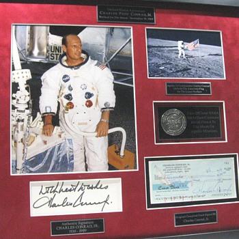 Apollo 12 Lunar Landing Mission Memorabilia