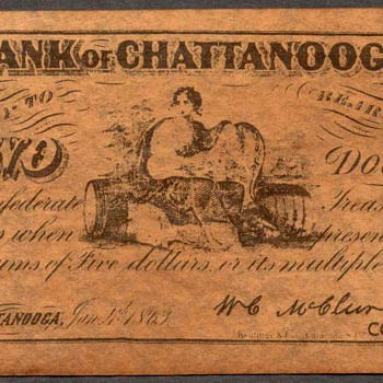 Confederate Currency - Novelty Note - US Paper Money