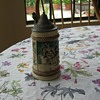 My Mother in Law&#039;s family antique beer stein.  