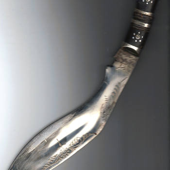 5th rifle gurkha kukri