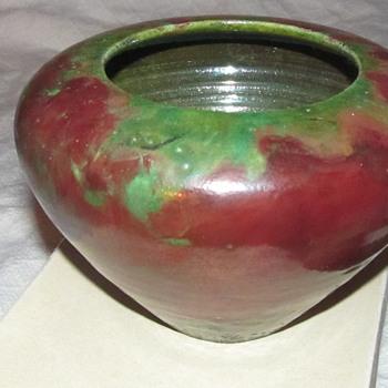 blacken pottery bowl  - Pottery
