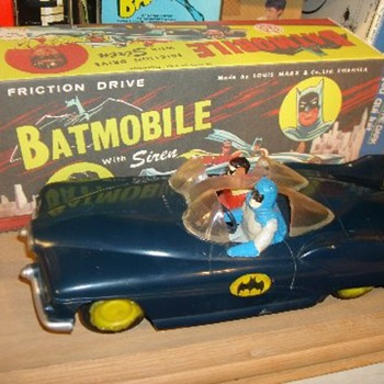 &quot;Marx&quot; Batmobile - Toys