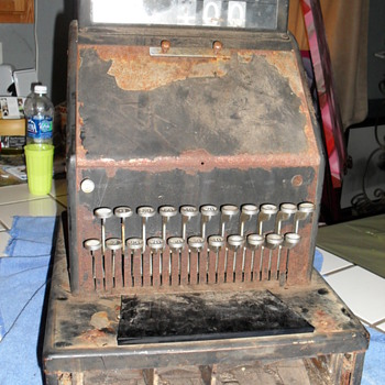 my old cash register - Coin Operated