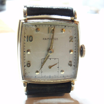 1948 Hamilton &quot;Dyson&quot; 14K 17 Jewel 747 caliber