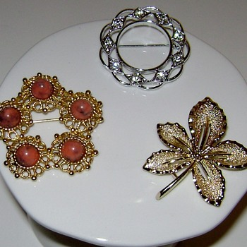 Vintage Sarah Coventry Brooches