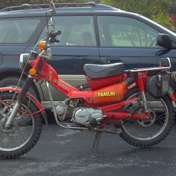 1975 Honda Trail 90 - Motorcycles