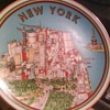 LTD EDITION-NEW YORK Souvenir collectible plate