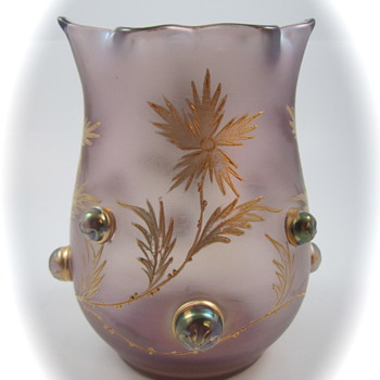 Loetz Turmalin, Prod. Nr. 2/536, 1902 - Dek. 307 - Art Glass