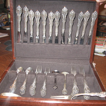 "1970's Gorham ""La Scala"" Flatware Set - Sterling Silver"
