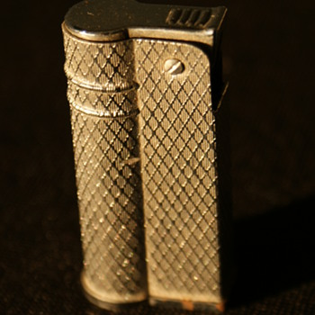 Vintage Silver Cigarette Lighter  - Tobacciana