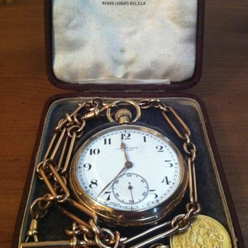 James William Benson pocket watch.