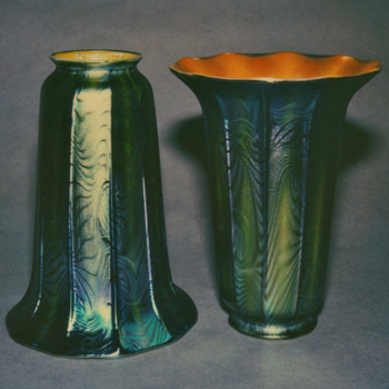 QUEZAL ART GLASS SHADES - Art Glass