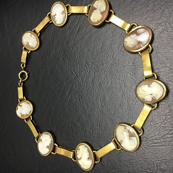 cameo shell necklace - Fine Jewelry