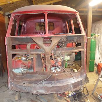 VW Crewcab resto - Classic Cars