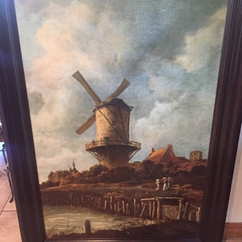 Windmill at Wijk  - Visual Art
