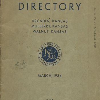 The Kansas Telephone Company - Telephones