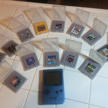 The Only Video Game System I Ever Had as a Child: Nintendo GameBoy - Games