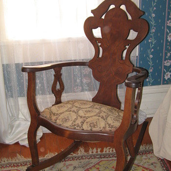 Aunt Dot&#039;s rocking chair - Furniture