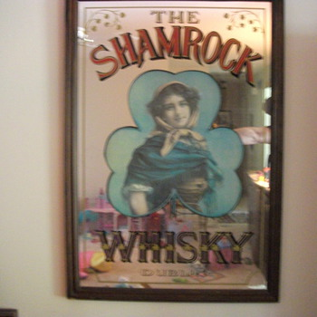 The SHAMROCK WHISKY DUBLIN - Advertising