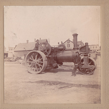 Steam roller from beverly ma