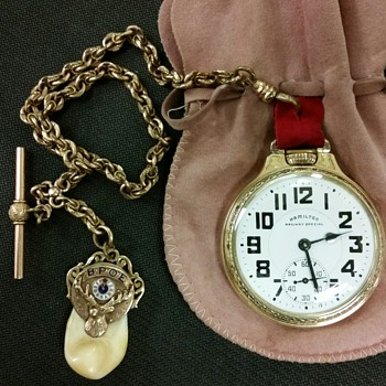 Vintage Hamilton 992b Pocket Watch - Pocket Watches
