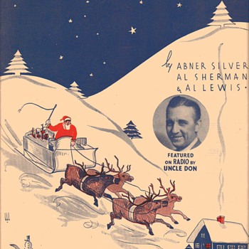 Sheet Music - Christmas theme (4 pieces)