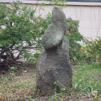 My Easter Island Rock Sculpture - Visual Art