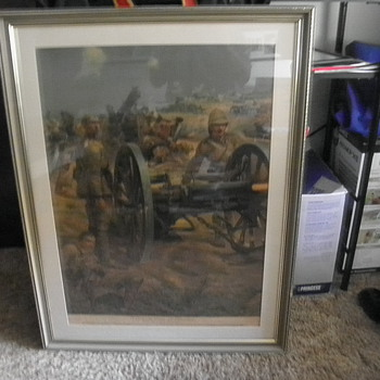 Boer War    Lithorgraph                       - Military and Wartime